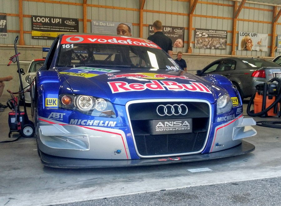 Audi DTM Canards