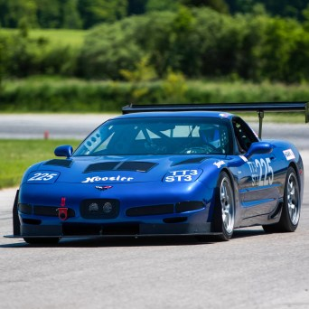 Professional Awesome Racing Splitter Support Installed on Andy Steven's C5 Chevy Corvette-3