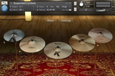 Suspended Cymbals by Wavesfactory