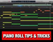 Logic Pro X Piano Roll Tips & Tricks