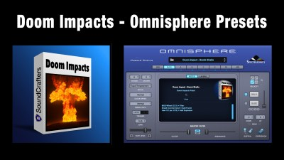 Omnisphere Preset Pack - Doom Impacts (video)
