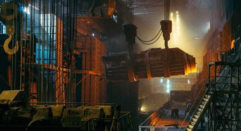 steel plant factory