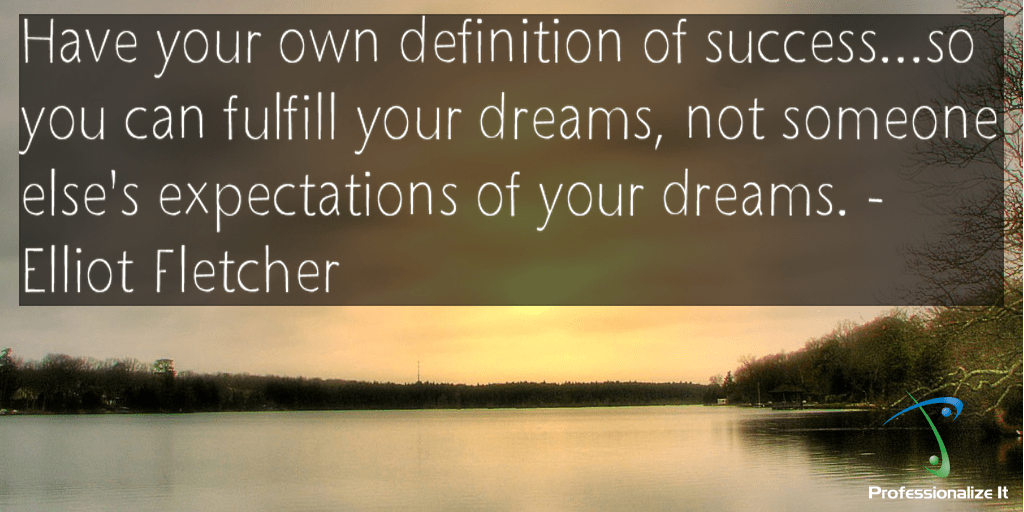 Success and dreams