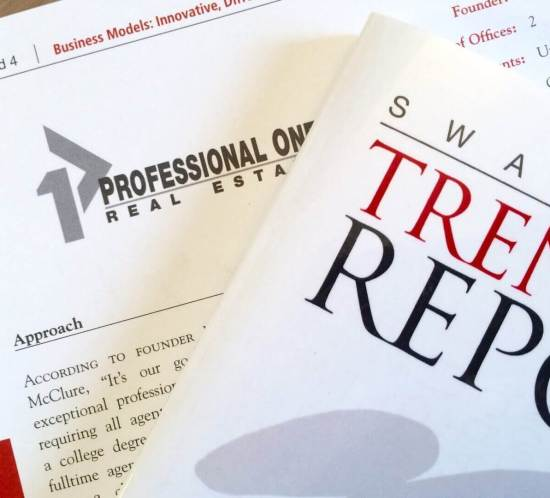 professional one named in Trends Report