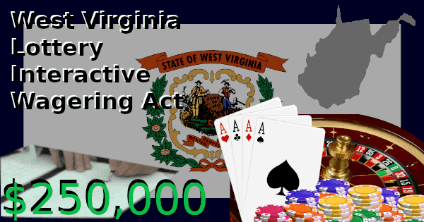 The West Virginia Lottery Interactive Wagering Act Became Law in Late March 2019