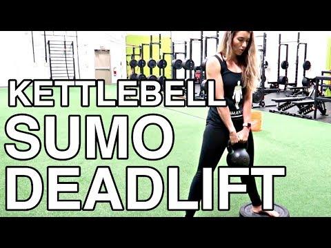 KETTLEBELL SUMO DEADLIFT TUTORIAL | lower body power practicing exercise | Human 2.0