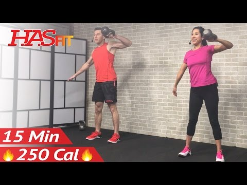 15 Min Rapid HIIT Kettlebell Workout routines for Corpulent Loss & Strength: Kettlebell Speak Practicing Workout routines