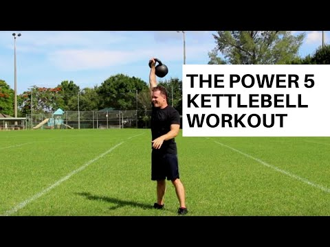 Kettlebell Exercise: The 'Vitality 5' Single Kettlebell Complex