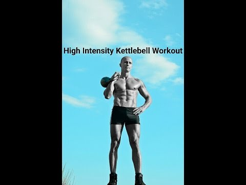 Kettlebell Full Body Vulgar Interval Notify: Routine 1