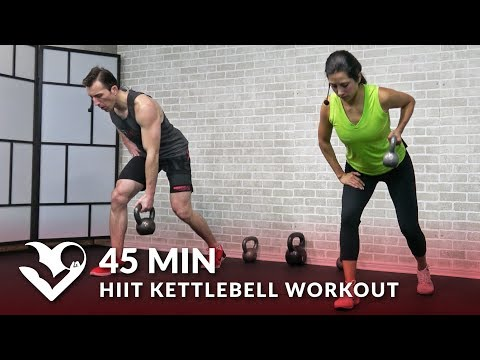 forty five Min HIIT Kettlebell Workout routines for Beefy Loss & Energy – Kettlebell Exercise Training Workout routines