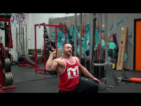 Tips on how to attain the Bell-Up Unilateral Kettlebell Shoulder Press for Diced Delts | Tiger Fitness