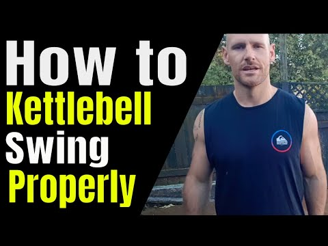 The most attention-grabbing methodology to kettlebell swing precisely