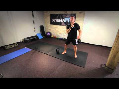 The Ideal Kettlebell Squat Yell for Your Core