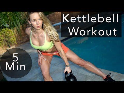 5 Minute Tubby Burning Kettlebell Teach #69