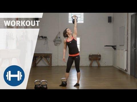 Kettlebell Workout für das Practising zuhause | Übungen & Exercises | Sport-Thieme