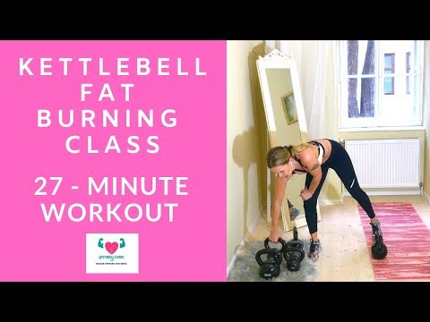 Kettlebell Paunchy Burning Class I 27-Minute Grunt With Music For Dwelling Health by 2FitnessLovers