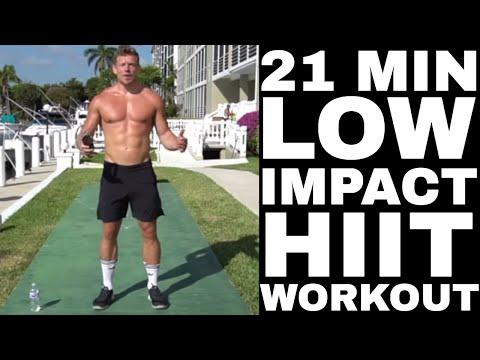 21 Minute Low Affect Paunchy Burning Hiit Workout | LEANSQUAD