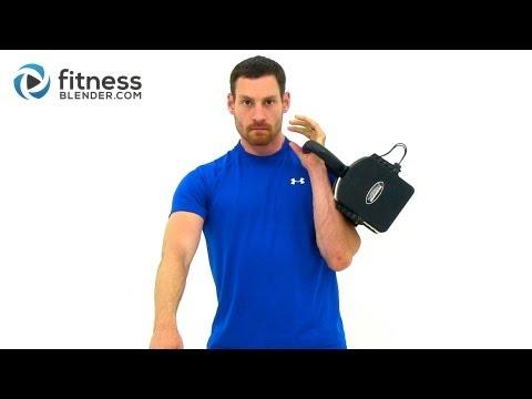 15 Minute Kettlebell Workout Video – 1X10 Kettlebell Burnout