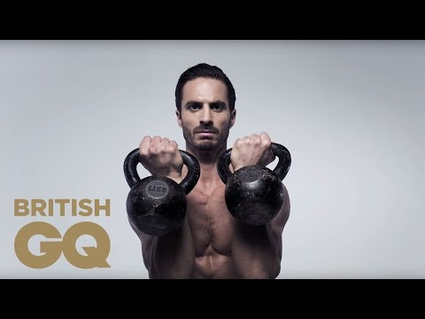 Core Utter: Kettlebell Thrusters | Fitness | British GQ