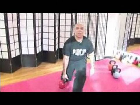 Kettlebell Workout routines and Workout routines : How to attain a Tactical Lunge with Kettlebells