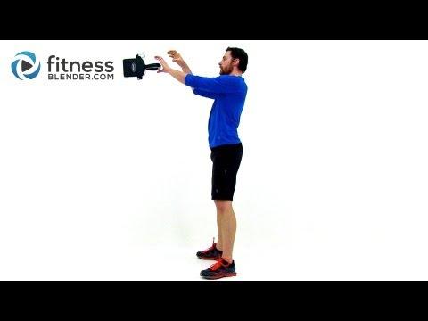Kettlebell Til You Drop – 40 Minute Killer Total Physique Kettlebell Workout Routine