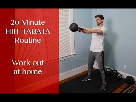 HIIT Tabata Kettlebell Exercise