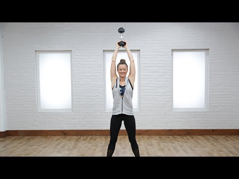 5 Moves to Employ Your Free Weight as a Kettlebell | Class FitSugar
