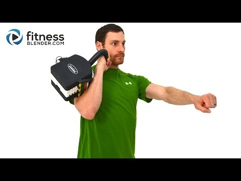 Calorie Blast Kettlebell Exercise Video – 20 Minute Better Physique Kettlebell Exercise Routine