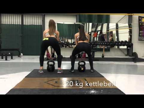 Czech girls successfully being team – Kettlebell cviky na zadeček