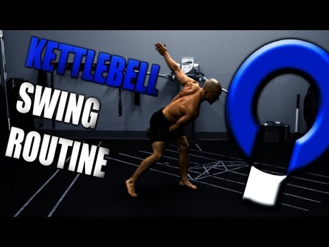 Kettlebell Coaching Workouts- 3 Kettlebell Swing Progressions