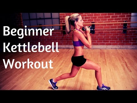 30 Minute Newbie Kettlebell Tutorial Workout