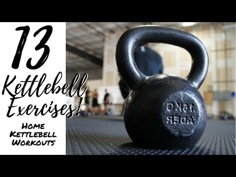 13 Kettlebell Workouts | Dwelling Kettlebell Exercise