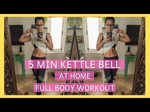 5 MINUTE KETTLEBELL WORKOUT | AT HOME | INDIAN FEMALE FITNESS |YOGASINI