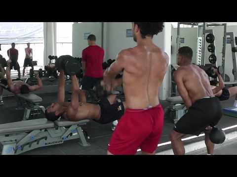 Football Power & Conditioning – Kettlebell Swings