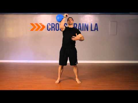 Single-Arm Spruce & Press Speak : Kettlebell Workout routines & Exercises