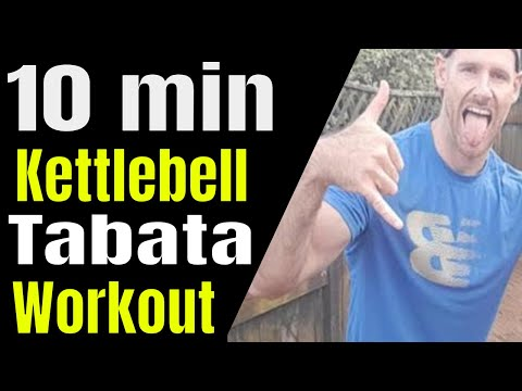 Kettlebell 10 Min Strength & HIIT Workout