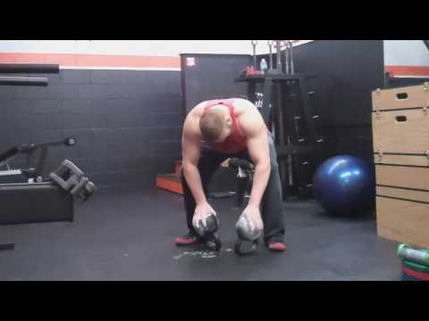 Grip Energy Combo Protect: 45lb & 40lb Kettlebell Lifts