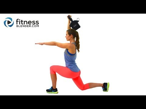 42 Minute Brutal HIIT Cardio and Kettlebell Exercise – Exercise to Develop Lean Muscle and Burn Fleshy Snappy