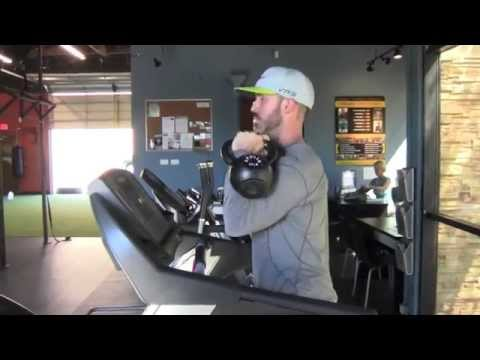 Kettlebell Steadiness Drill To Relief Your Golf Swing