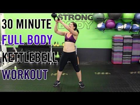 30 Minute KILLER Kettlebell Workout | Plump Body Burn!