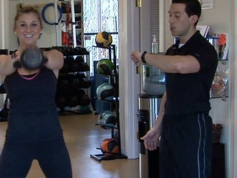 4-min Workout Tabata Interval: Kettlebell Swings