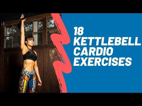 18 Kettlebell Cardio Exercises