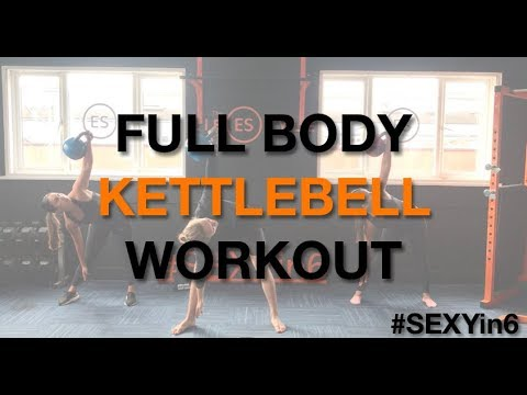 Kettlebell Workout – SEXYin6 (ONLY 6 Minutes)