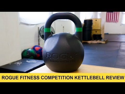 Rogue Fitness Competition Kettlebell Review