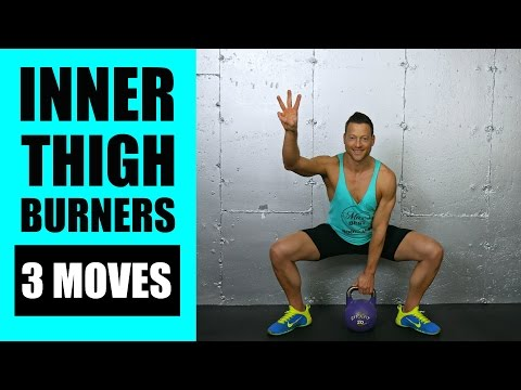 🔴 LIVE: 3 SLIMMING INNER THIGH EXERCISES WITH KETTLEBELLS | Kettlebell Exercises For Interior Thighs