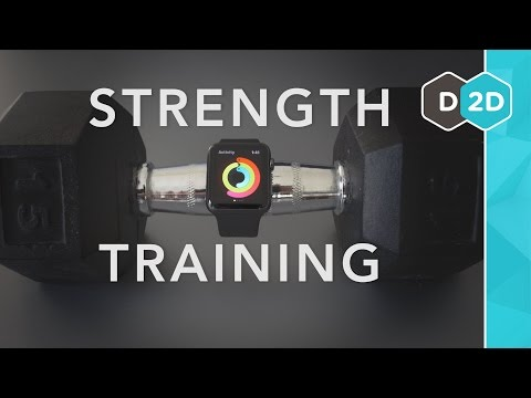 Strength practising with the Apple Watch