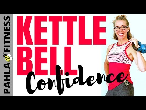 KETTLEBELL CONFIDENCE | 20 Minute Total Body CARDIO + STRENGTH Body Shaping Order without Leaping