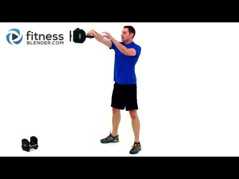 Kettlebell Cardio Exercise by FitnessBlender.com