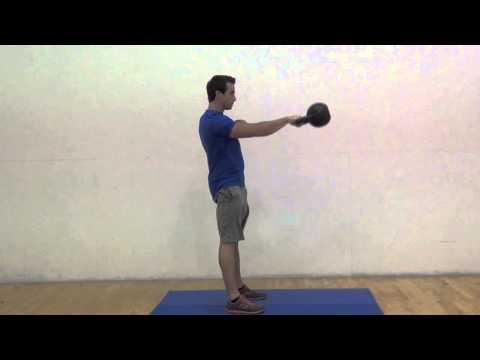 One Arm Kettlebell Swing