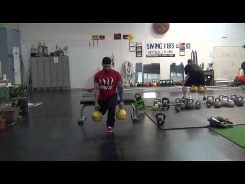 Bulking Kettlebell Exercise Legs 3 day Program